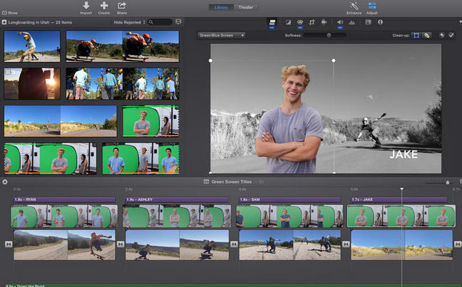 Apple iMovie 10.1.9 for Mac OS X Free Cracked Download