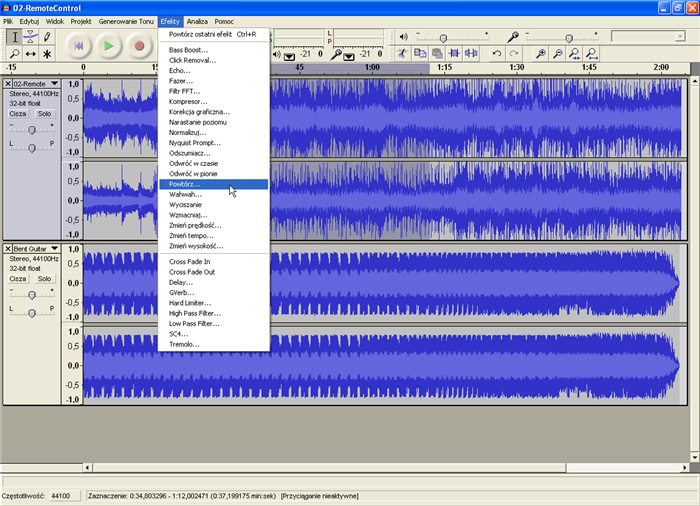 Audacity for Mac 2.1.2 Free Download