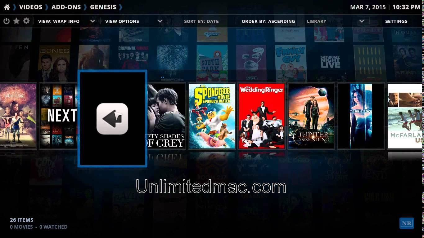 Kodi for MAC v18 Free Download