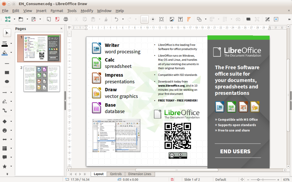 LibreOffice 6.0.0 for Mac + Windows Free Download