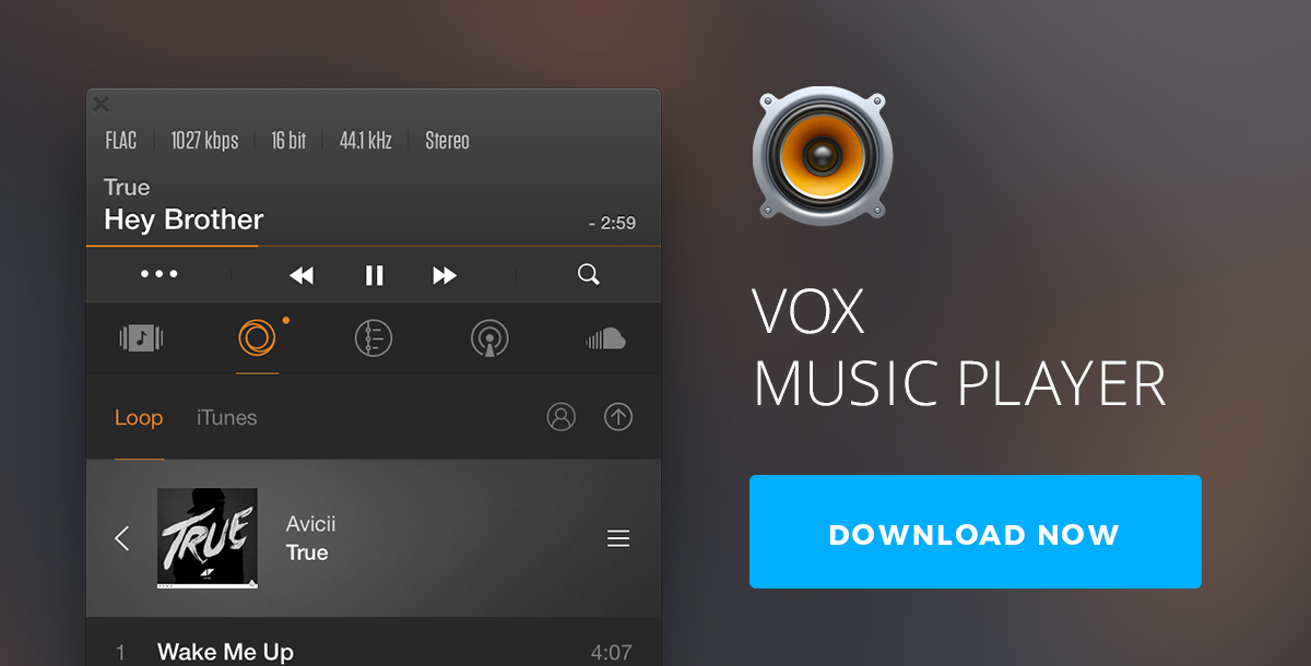 VOX 3.3.7 for Mac Music Player: Best FLAC Player Free Download